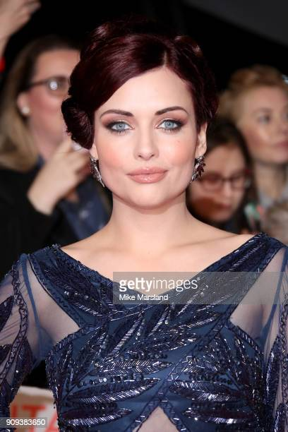 Shona McGarty attends the National Television Awards 2018 at The O2 Arena on January 23 2018 in London England