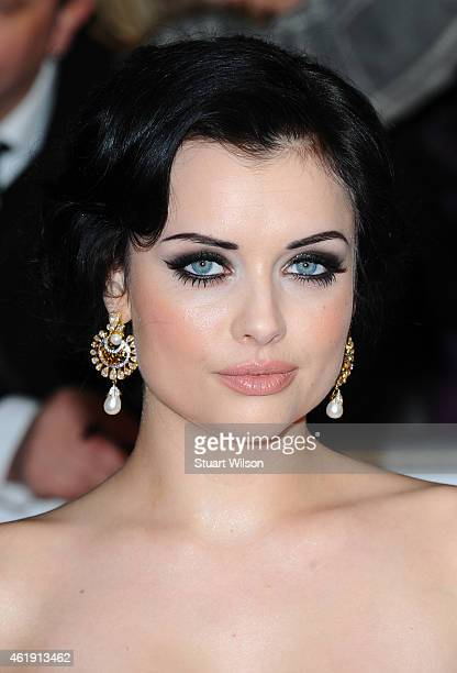 Shona McGarty attends the National Television Awards at 02 Arena on January 21 2015 in London England
