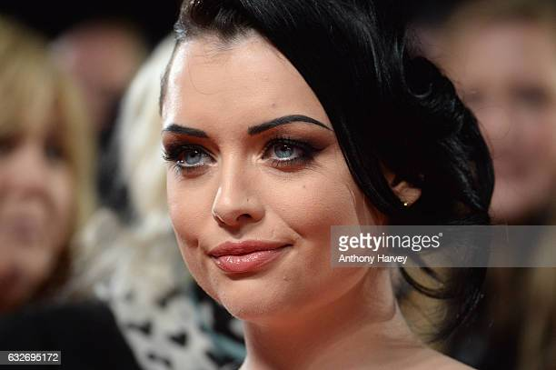 Shona McGarty attends the National Television Awards on January 25 2017 in London United Kingdom