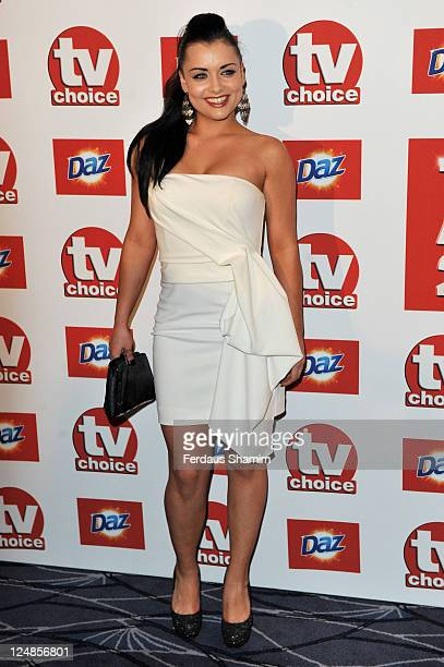 Shona McGarty attends the The TVChoice Awards 2011 at The Savoy Hotel on September 13 2011 in London England