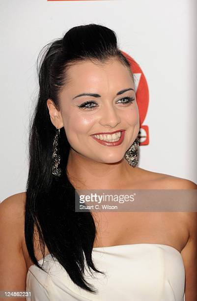 Shona McGarty attends the TVChoice Awards at The Savoy Hotel on September 13 2011 in London England
