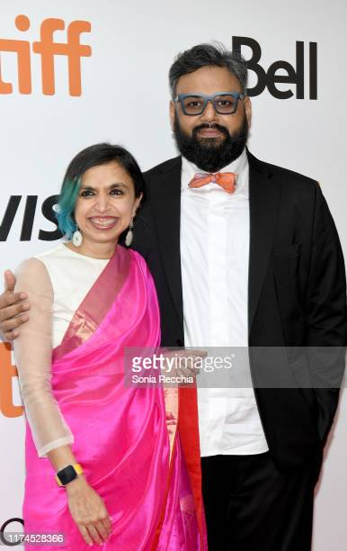Shonali Bose and Nilesh Maniyar attend The Sky Is Pink premiere during the 2019 Toronto International Film Festival at Roy Thomson Hall on September...