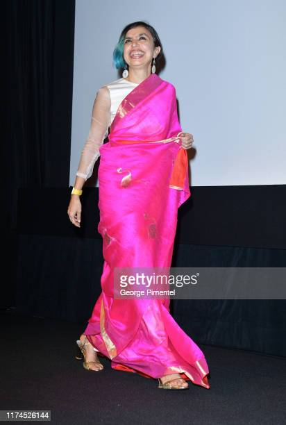 Shonali Bose attends The Sky Is Pink premiere during the 2019 Toronto International Film Festival at Roy Thomson Hall on September 13 2019 in Toronto...