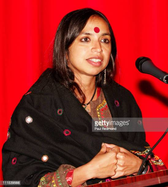 Shonali Bose during Film Independent's Project Involve Presents 'Amu' at Vista Theater in Los Angeles California United States