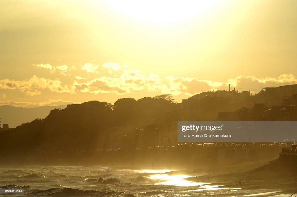 Shonan Angel Beach : Stock Photo