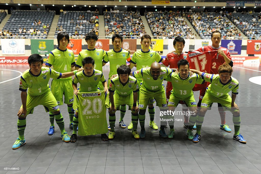 F.League 2014 : News Photo