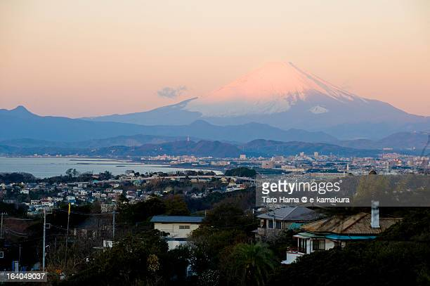 Shonan Winter Morning Mt.Fuji