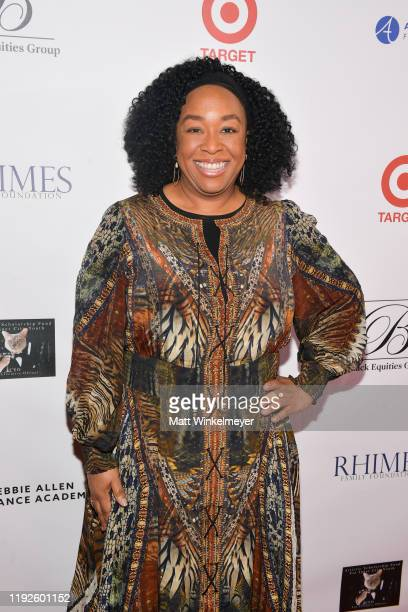 Shonda Rhimes attends Debbie Allen's Hot Chocolate Nutcracker 10th Anniversary Gala at Redondo Beach Performing Arts Center on December 07 2019 in...