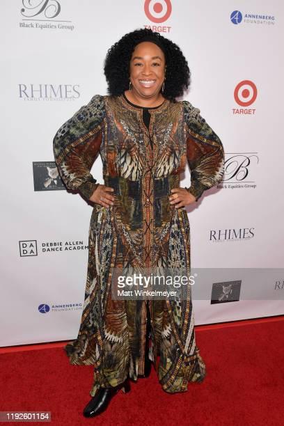"Shonda Rhimes attends Debbie Allen's ""Hot Chocolate Nutcracker"" 10th Anniversary Gala at Redondo Beach Performing Arts Center on December 07, 2019 in..."