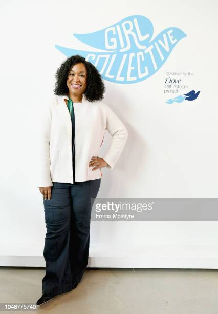 Shonda Rhimes attends Dove's Launch of Girl Collective The First Ever Dove SelfEsteem Project MegaEvent on October 6 2018 in Los Angeles California