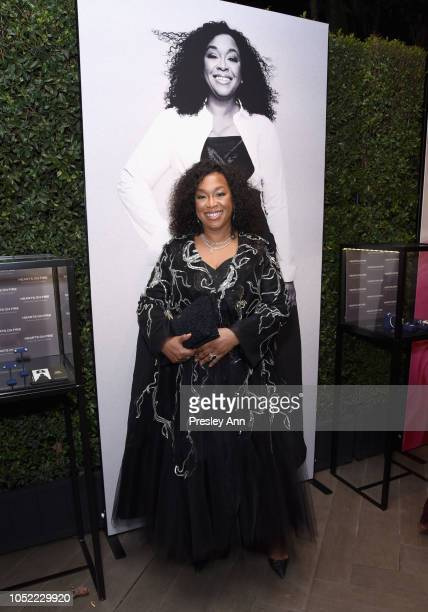 Shonda Rhimes attends ELLE's 25th Annual Women In Hollywood Celebration presented by L'Oreal Paris, Hearts On Fire and CALVIN KLEIN at Four Seasons...