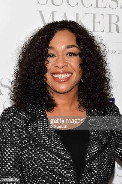 Shonda Rhimes attends the 2017 Success Makers Summit at Spring Place on April 17 2017 in New York City
