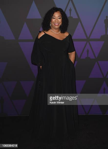 Shonda Rhimes attends the Academy of Motion Picture Arts and Sciences' 10th annual Governors Awards at The Ray Dolby Ballroom at Hollywood Highland...