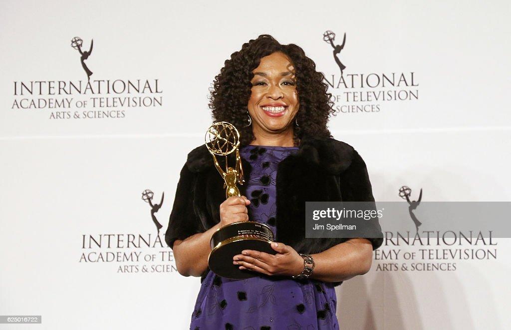 2016 International Emmy Awards : Fotografía de noticias
