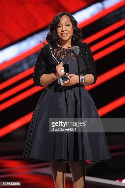 Shonda Rhimes speaks onstage during Black Girls Rock 2016 on April 1 2016 in Newark City