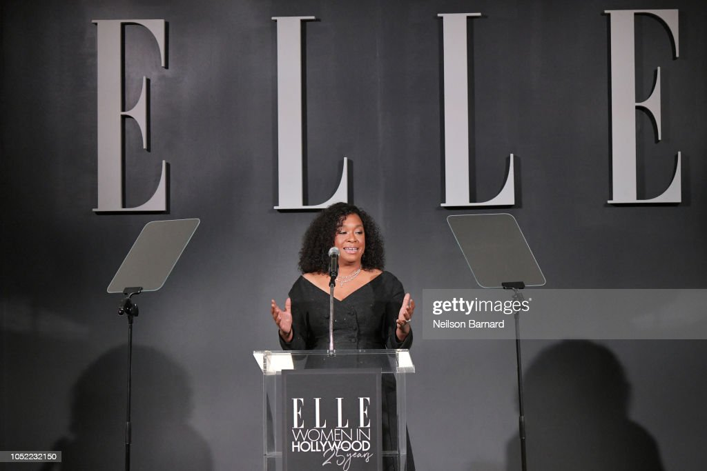 ELLE's 25th Annual Women In Hollywood Celebration Presented By L'Oreal Paris, Hearts On Fire And CALVIN KLEIN - Show : News Photo