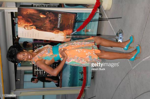 Shondrella Avery during Shadowboxer Los Angeles Premiere Arrivals at Arclight in Hollywood California United States