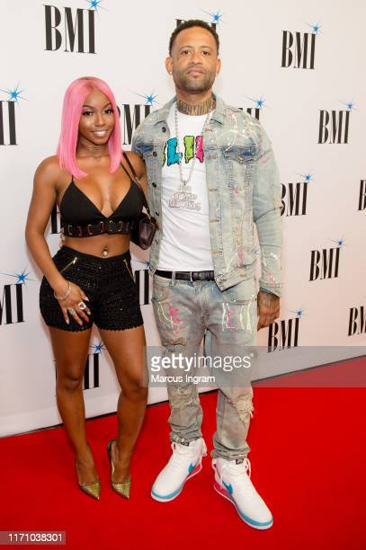 Shonte Renee and DJ Montay attend the 2019 BMI RB/HipHop Awards on August 29 2019 in Sandy Springs Georgia