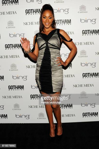 Shontelle attends ALICIA KEYS Hosts GOTHAM MAGAZINES Annual Gala Presented by BING at Capitale on March 15, 2010 in New York City.