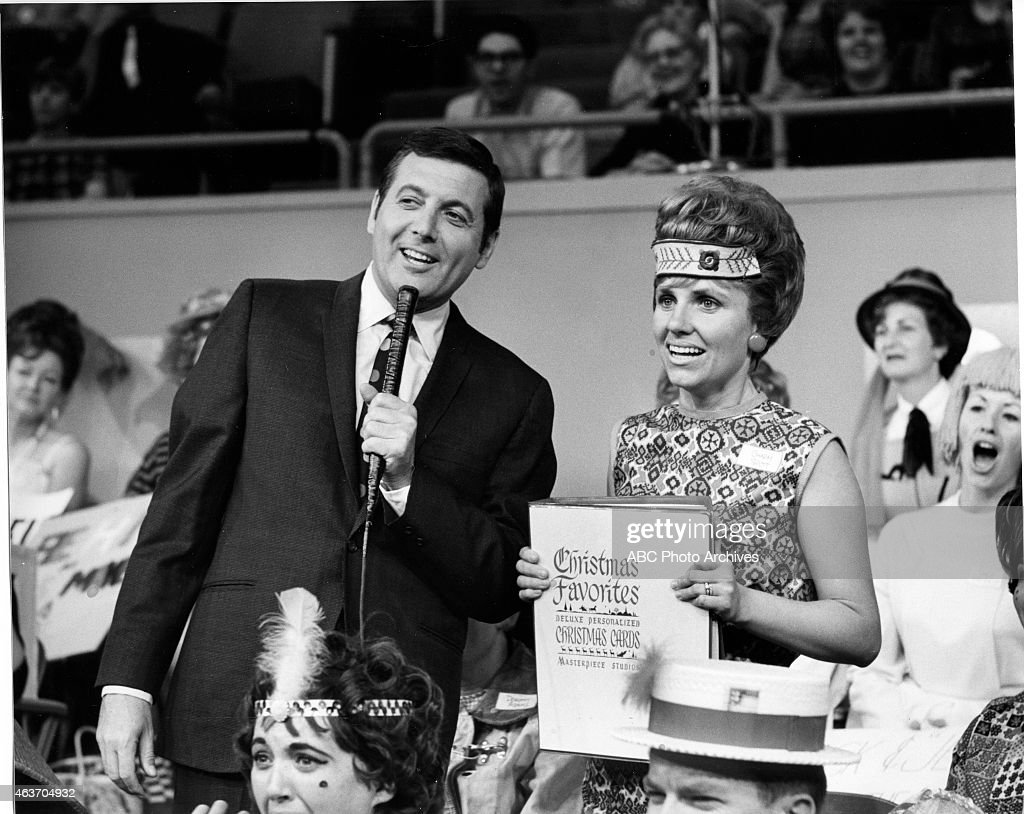 LET'S MAKE A DEAL - Shoot Date: November 25, 1968. CONTESTANT