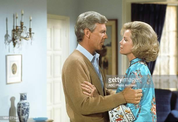 Shoot Date: November 9, 1976. PETER HASKELL;LARAINE STEPHENS