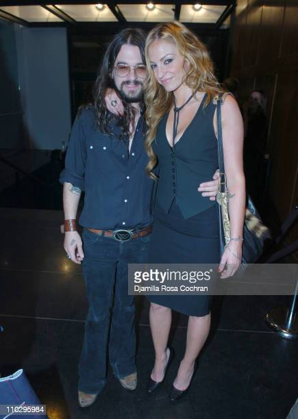Shooter Jennings and Drea de Matteo during Another Magazine After Party Featuring Kirsten Dunst at Milk Gallery in New York City New York United...