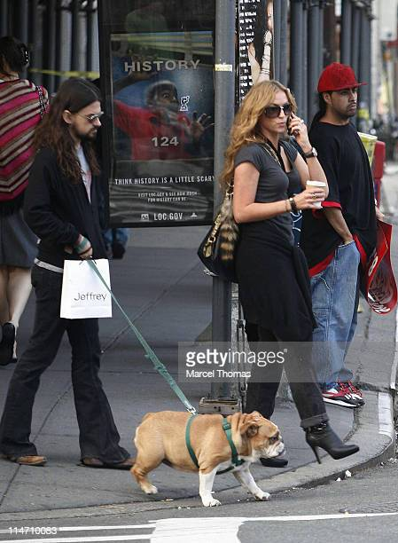 Shooter Jennings and Drea de Matteo during Shooter Jennings and Drea de Matteo Sighting In The Meat Packing District September 11 2006 at Meat...