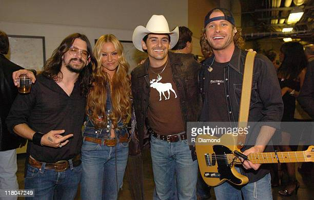 Shooter Jennings Drea de Matteo Brad Paisley and Dierks Bentley