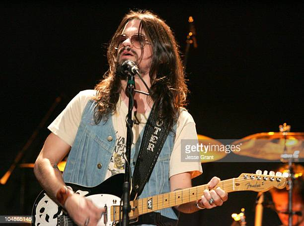 Shooter Jennings during The 39th Annual CMA Awards Lee Ann Womack and Shooter Jennings in Concert at Bowery Ballroom in New York City New York United...