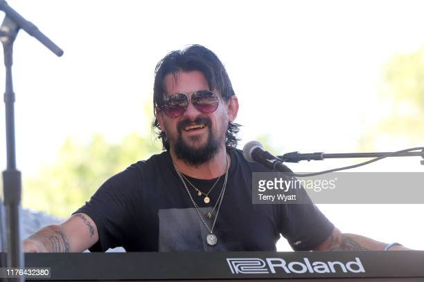 Shooter Jennings performs onstage during day 2 of the 2019 Pilgrimage Music Cultural Festival on September 22 2019 in Franklin Tennessee