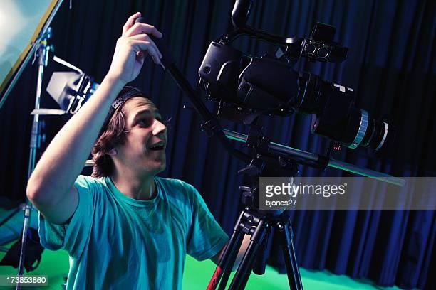 Shooting in Studio