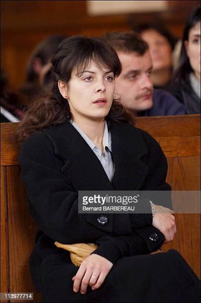 Shooting of film ' l'Affaire Villemin' of the film maker Raoul Peck broadcast on France 3 In France In 2005Christine Villemin Armelle Deutsch...