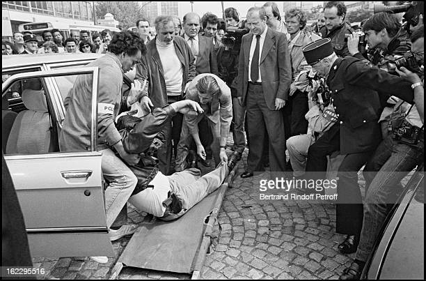 Shooting of Mesrine by Andre Genoves Paris 1983