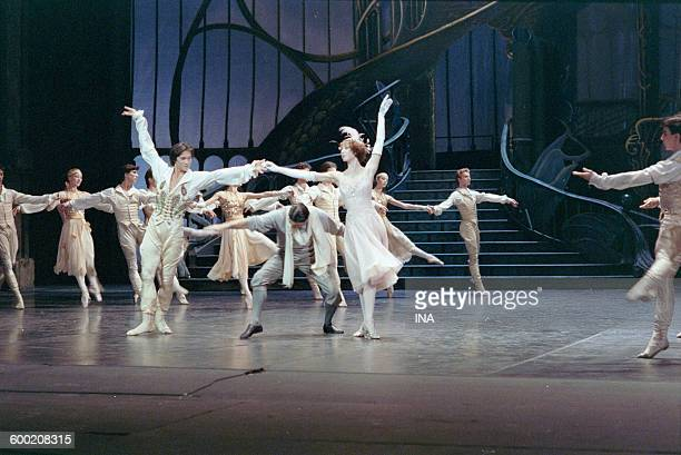 Shooting of the ballet 'Cendrillon' with Charles Jude and Sylvie Guillem in the studios of the SFP