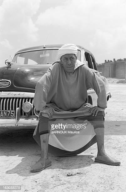 Shooting Of The Film 'Ali Baba Et Les Quarante Voleurs' With Fernandel Le 100ème film de FERNANDEL tourné à Taroudant dans le sud marocain
