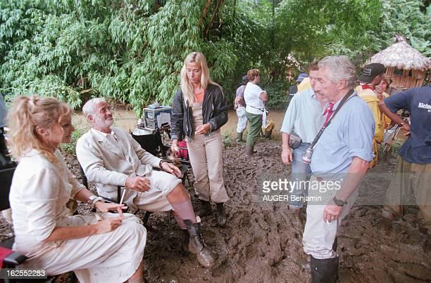 Shooting Of The Film 'Amazone' By Philippe De Broca In Cuba Cuba 4 octobre 1999 sur le tournage du film 'Amazone' de Philippe DE BROCA Hors tournage...