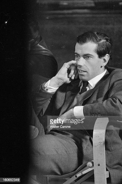 Shooting Of The Film 'la Bride Sur Le Cou' By Roger Vadim En France le 30 janvier 1961 lors du tournage du film 'La Bride sur le cou' de Roger VADIM...