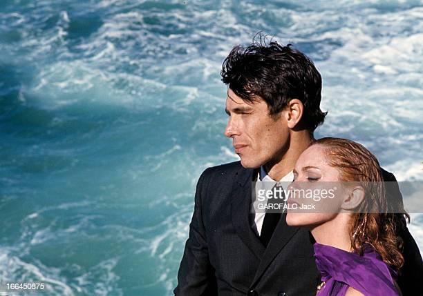 Shooting Of The Film 'La Prisonniere' By Henri Georges Clouzot With Elizabeth Wiener And Laurent Terzieff France octobre1967 A l'occasion du tournage...