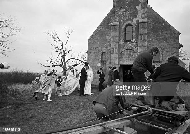 Shooting Of The Film 'Le Grand Meaulnes' By JeanGabriel Albicocco France 27 janvier 1967 Sur le tournage du film 'le grand Meaulnes' réalisé par...