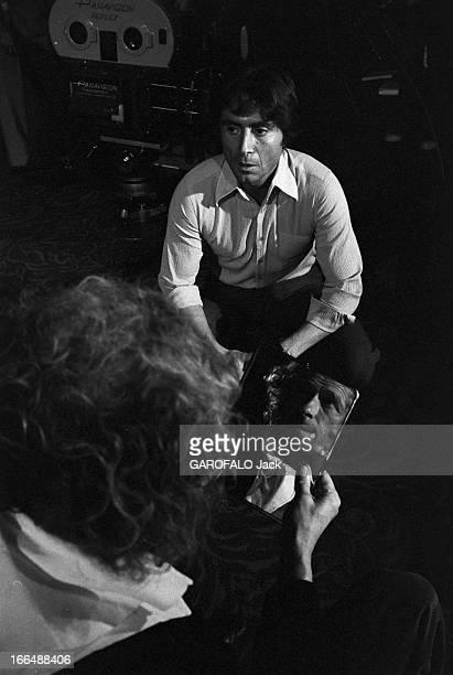 Shooting Of The Film 'Le Jouet' By Francis Veber France 6 septembre 1976 Tournage du film 'Le jouet' du réalisateur Francis VEBER avec l'acteur...