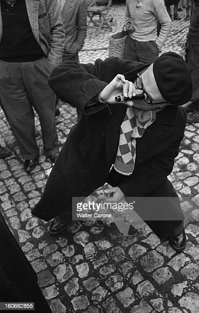 Shooting Of The Film 'le Retour De Don Camillo' By Julien Duvivier En Italie en 1952 lors du tournage du film 'Le Retour de Don Camillo' le...