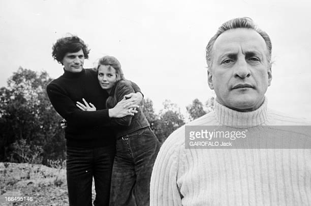 Shooting Of The Film 'Les Complices De La Derniere Chance' Espagne mars 1971 tournage du film 'Les complices de la dernière chance' des réalisateurs...