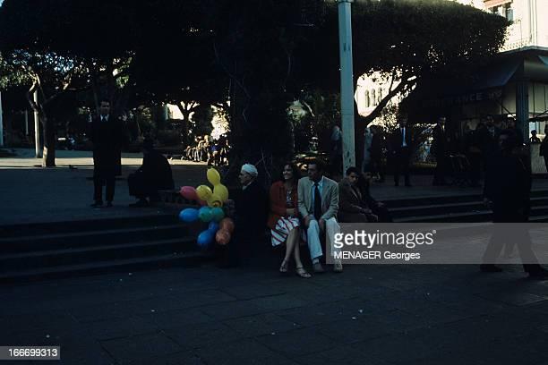 Shooting Of The Film 'L'Etranger' By Visconti Luchino Alger février 1967 Lors du tournage du film 'L'Etranger' du réalisateur Luchino VISCONTI sur...