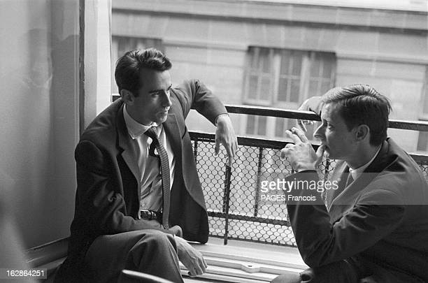 Shooting Of The Film Pickpocket By Robert Bresson With Martin Lasalle France le 30 juin 1959 tournage du film de Robert BRESSON 'Pickpocket' avec le...