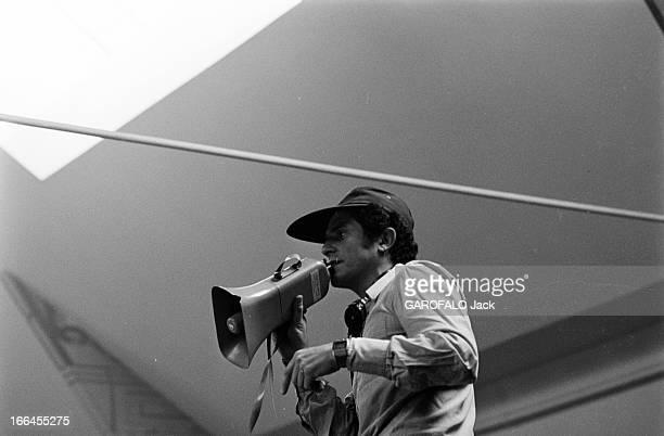 Shooting Of The Film 'Si C'Etait A Refaire' By Claude Lelouch France 3 Août 1976 Lors du tournage du film 'SI C'ETAIT A REFAIRE' de Claude LELOUCH le...