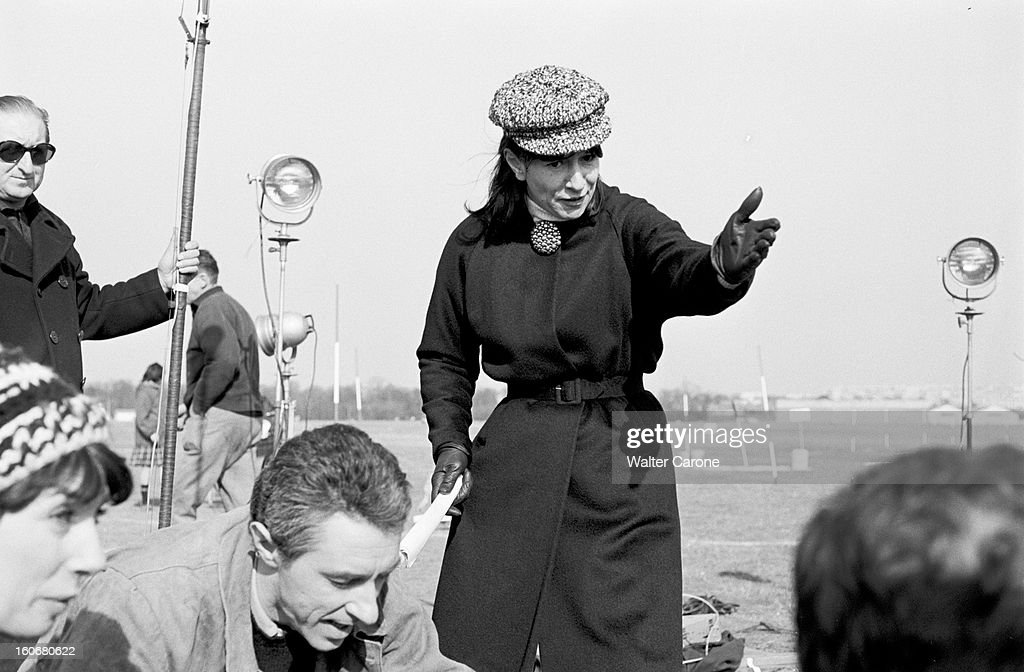 Shooting Of The Film 'surface Perdue' By Dolores Grassian : News Photo