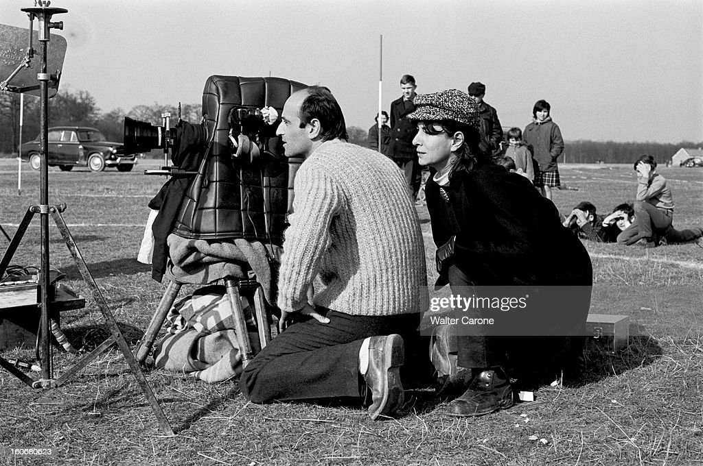 Shooting Of The Film 'surface Perdue' By Dolores Grassian : ニュース写真