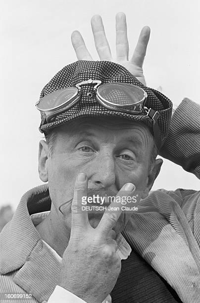 Shooting Of The Film 'the Cracks' By Alex Joffe En France le 26 septembre 1967 à l'occasion du tournage du film 'Les Cracks' de Alex JOFFE portrait...