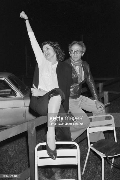 Shooting Of The Film 'the Wife Of A Side' By Francois Truffaut France Grenoble 8 mai 1981 pendant le tournage du film 'La femme d'à côté' lors d'une...