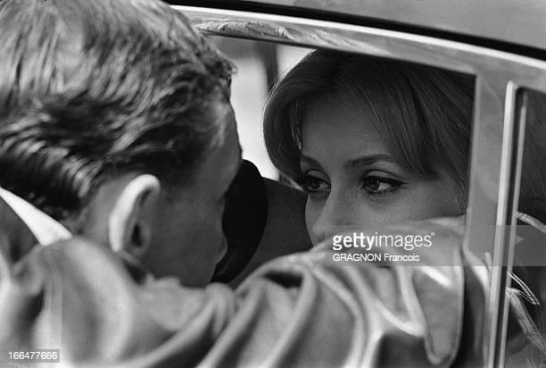 Shooting Of The Film 'Un Monsieur De Compagnie' By Philippe De Broca Tournage du film 'Un monsieur de compagnie' de Philippe DE BROCA plan de...